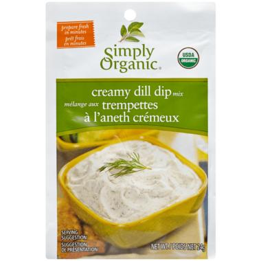 Simply Organic Creamy Dill Dip Mix
