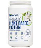 Leanfit Organic Plant-Based Protein Vanilla