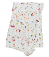 Loulou Lollipop Luxe Muslin Swaddle Blanket Woodland Gnome