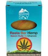 Mountain Sky Rasta Bar Hemp Bar Soap