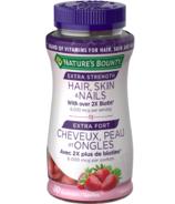Nature's Bounty Extra Strength Hair, Skin & Nails Gummies (en anglais)