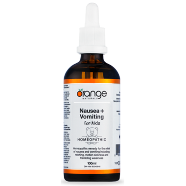 Orange Naturals Nausea + Vomiting for Kids