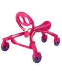 YBike Pewi Ride-On Toy and Walking Buddy Pink