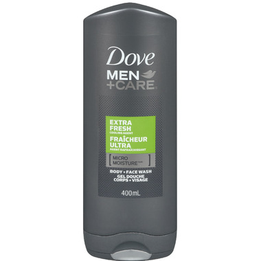 Dove Men+Care Micro Moisture Body + Face Wash