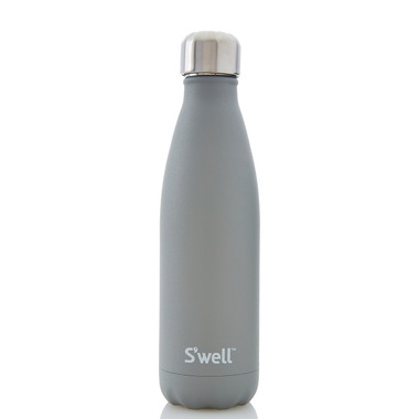 S\'well Smokey Quartz Stainless Steel Water Bottle Stone Collection