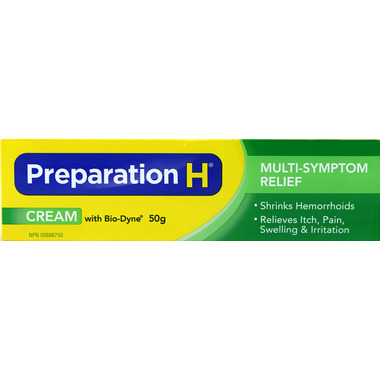 Preparation H Cream with Bio-Dyne