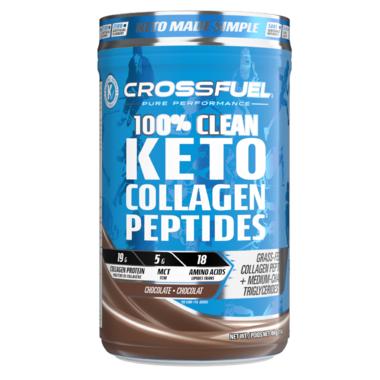 Crossfuel Keto Collagen Peptides Chocolate