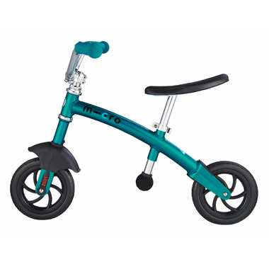 Micro of Switzerland G-Bike Chopper Deluxe Balance Bike Aqua