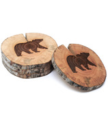 Woodrift and Co Bear West Coasters