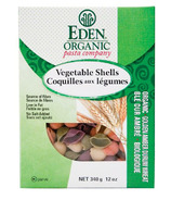 Eden Organic Golden Amber Durum Vegetable Shells Pasta