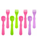 Re-Play Utensils Butterfly Bright Pink, Lime Green and Purple