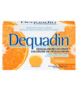 Dequadin Dequalinium Chloride Orange Lozenges