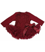 Olivia Rose Ruby Rosette Tutu Dress