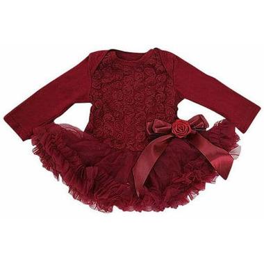 Olivia Rose Ruby Rosette Tutu Dress