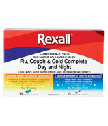 Rexall Flu, Cough & Cold Complete Day and Night Combo Pack