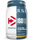 Dymatize Nutrition ISO100 Hydrolyzed Whey Protein Smooth Banana
