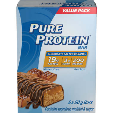 Pure Protein Bar Chocolate Salted Caramel Case