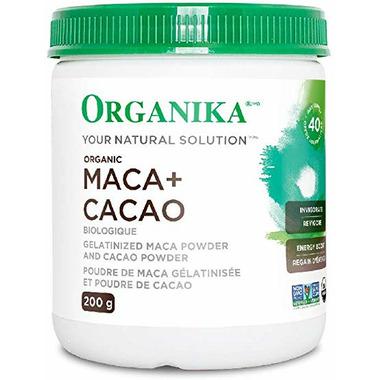 Organika Gelatinized Maca + Cacao Powder