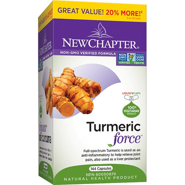 New Chapter Turmeric Force Bonus Size