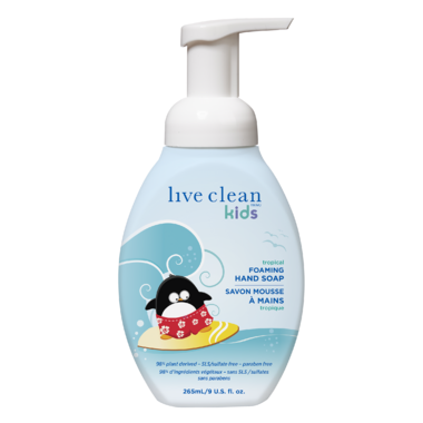 Live Clean Kids Foaming Hand Soap