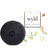 Wyld Skincare Konjac Sponge Bamboo Charcoal
