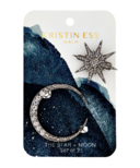 Kristin Ess Hair Star & Moon Clip Set