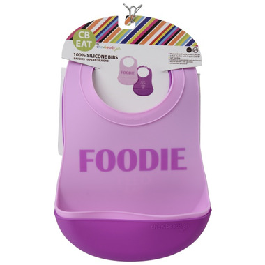 Chewbeads Silicone Bibs Foodie Girls
