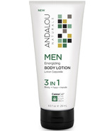 ANDALOU naturals MEN 3 in 1 Energizing Body Lotion
