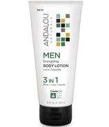 ANDALOU naturals MEN 3-in-1 Energizing Body Lotion