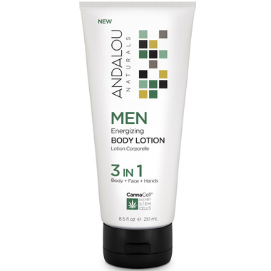 ANDALOU naturals MEN 3 in 1 Energizing Body Lotion