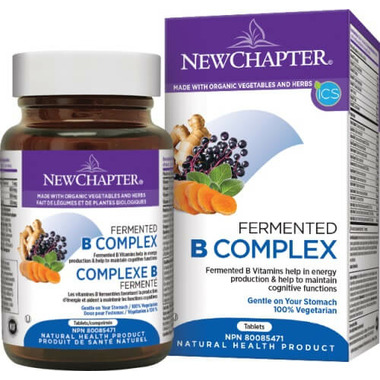 New Chapter Fermented B Complex