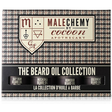 Cocoon Apothecary Malechemy Beard Oil Collection
