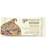 GoMacro MacroBar Protein Pleasure Peanut Butter + Chocolate Chip