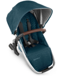 UPPAbaby VISTA V2 Rumbleseat Finn Deep Sea Silver Chestnut Leather