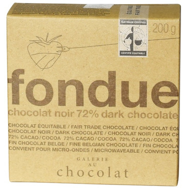 Galerie au Chocolat Dark Chocolate Fondue