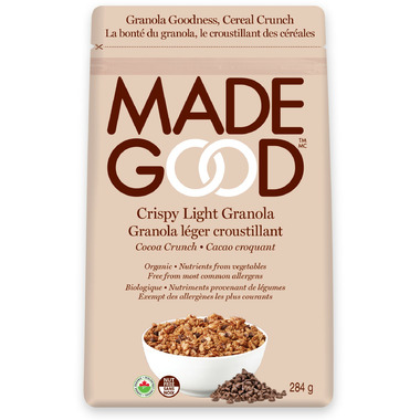 MadeGood Crispy Light Granola Cocoa Crunch
