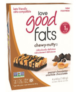 Love Good Fats Chewy Nutty Peanut Chocolatey
