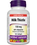 Webber Naturals Milk Thistle with 60% Silymarin