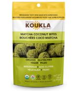 Koukla Delights Matcha Coconut Bites