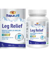 MapleLife Leg Relief with Red Vine Leaf