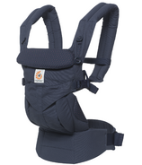 Ergobaby Omni 360 Baby Carrier Navy Mini Dots