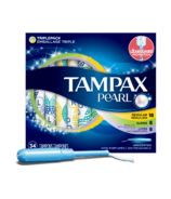 Tampax Pearl Unscented Tampons Triple Pack