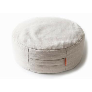 Halfmoon Home Meditation Cushion Natural Linen
