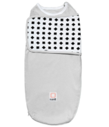 Nanit Breathing Wear Swaddle Size Large Grey