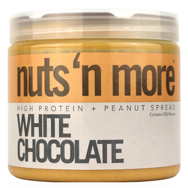 Nuts n More White Chocolate Peanut Butter High Protein Spread