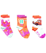 Q for Quinn Organic Cotton Socks Popsicle