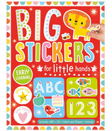 Make Believe Ideas Big Stickers for Little Hands Red