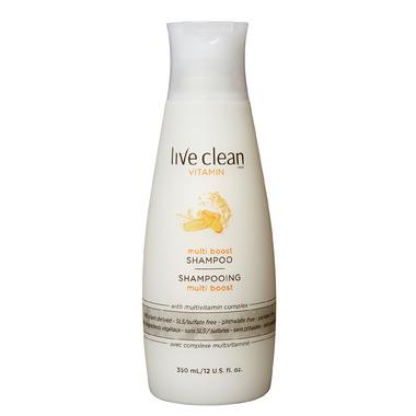 Live Clean Vitamin Multi Boost Shampoo