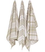 Now Designs Basketweave Towels Sandstone