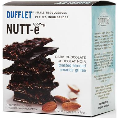Dufflet Nutt-e Dark Chocolate Toasted Almonds